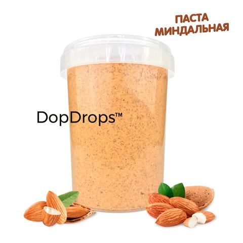 DopDrops Миндальная Паста 1000г [без добавок], пластик