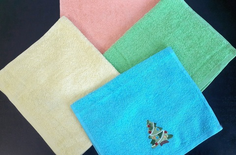 Кухонное полотенце 30*50см (цветные)