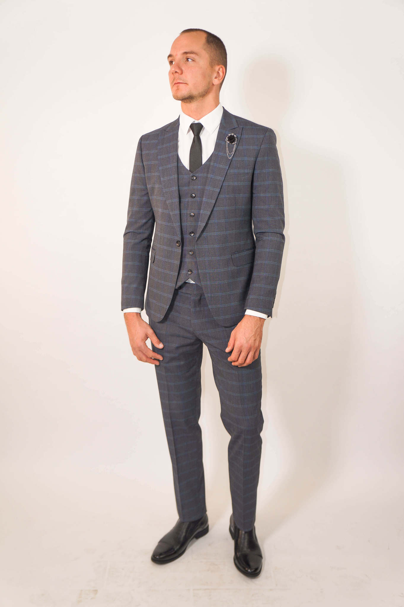 Костюм Slim fit CESARI MARIANO / Костюм - тройка slim fit DSC01930.jpg