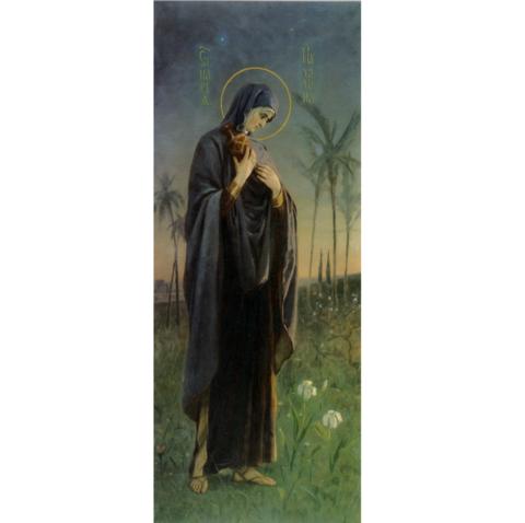 Икона Святая Мария Магдалина на дереве на левкасе мастерская Иконный Дом