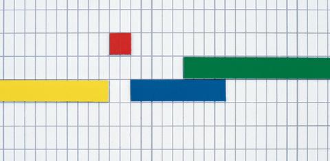 Магнитная лента цветная, ширина 10мм, длина 1м