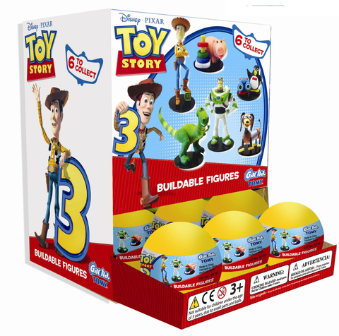 GACHA TOMY Toy Story - Buildable Figures