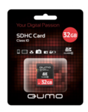 Карта памяти QUMO SDHC 32 Гб