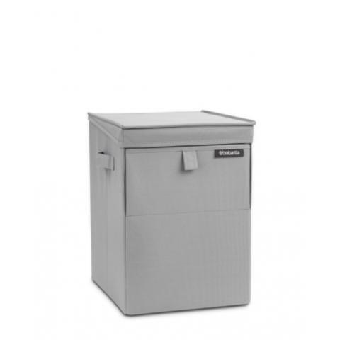 Модульный ящик для белья (35 л), Серый, арт. 109324 - фото 1