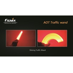 Сигнальный жезл Fenix- Красный