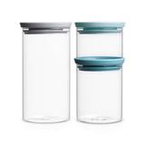 Набор модульных стеклянных банок (3 шт.), производитель - Brabantia