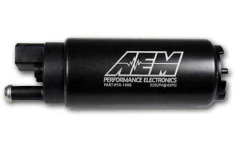 Топливный насос AEM 320 литров в час (AEM 320lph High Flow In-Tank Fuel Pump)