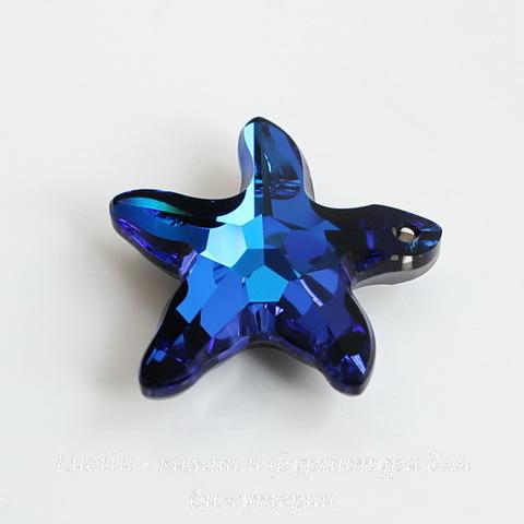 6721 Подвеска Сваровски Морская Звезда Crystal Bermuda Blue (16 мм)