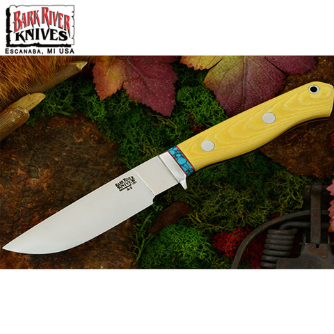 Нож Bark River модель Gameskeeper Antique Ivory Micarta