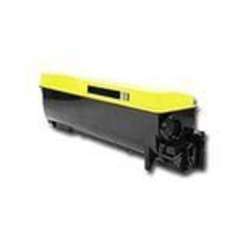 Совместимый картридж Kyocera TK-560Y желтый для принтеров Kyocera FS-C5300DN, C5350DN. Ресурс 10000 стр.