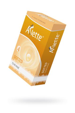 Презервативы ''Arlette'' №6, Dotted Точечные 6 шт. фото