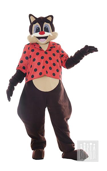 Ростовая кукла Бурундук пригодится для народных гуляний и праздников на свежем воздухе, новогодних утренников и спектаклей. Костюм выполнен из флиса на подкладке.