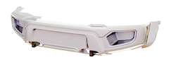 Бампер АВС-Дизайн передний UAZ Патриот/Пикап/Карго 2005+ лифт (БАЗОВЫЙ, без оптики)(белый)