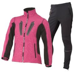 OWE WAY CATA-CATAMA женский лыжный костюм розовый
