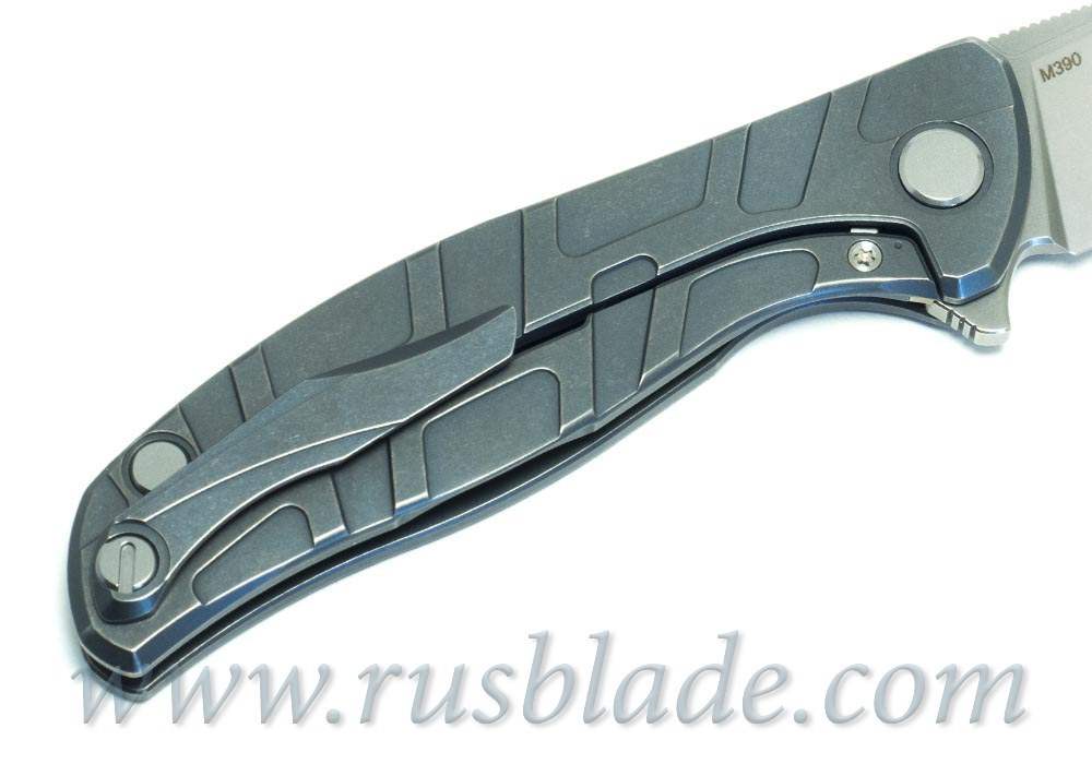 2019 Shirogorov Flipper 95 M390 T-mode As blue MRBS