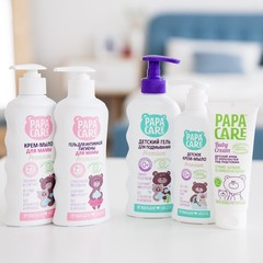 PAPA CARE Premium. Крем-мыло для мамы, 250 мл