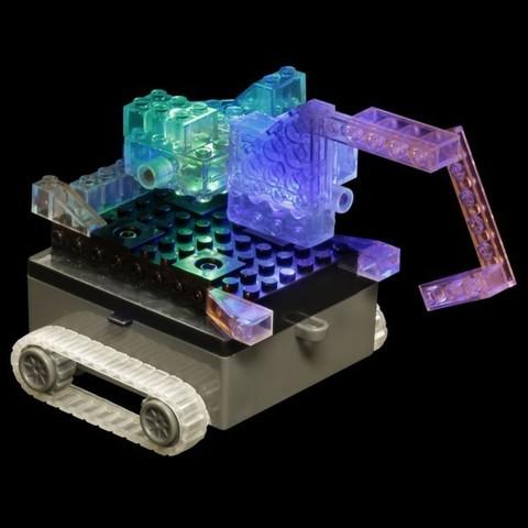 Конструктор Laser Pegs «Танк» 6 в 1 (1320B)