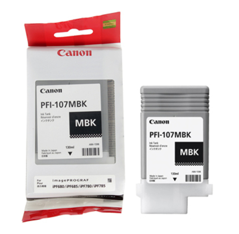 Картридж Canon PFI-107 MBK/6704B001
