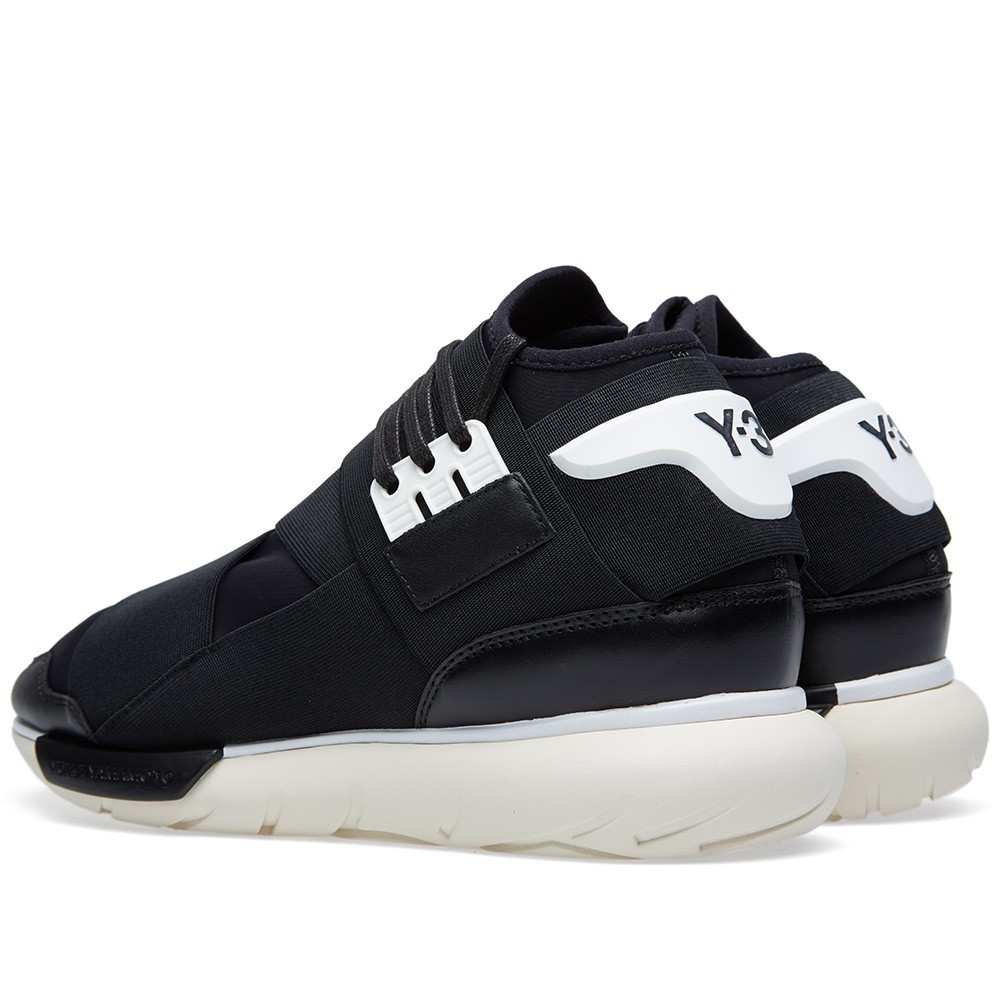 Adidas Y-3 Qasa Racer High (Cream Sole) (002)