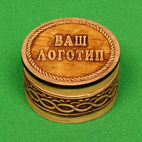 Шкатулка малая с вашим логотипом
