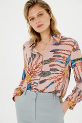 Рубашка с паттерном «цепи»