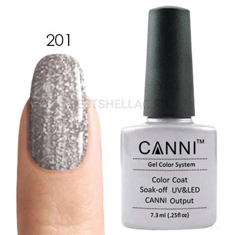Canni Canni, Гель-лак 201, 7,3 мл 201.jpg