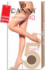 D5PS311-40 OPTIMA набор колготок жен. Загар
