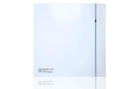 Вентилятор накладной S&P Silent 300 CHZ Plus Design 3C (таймер, датчик влажности)