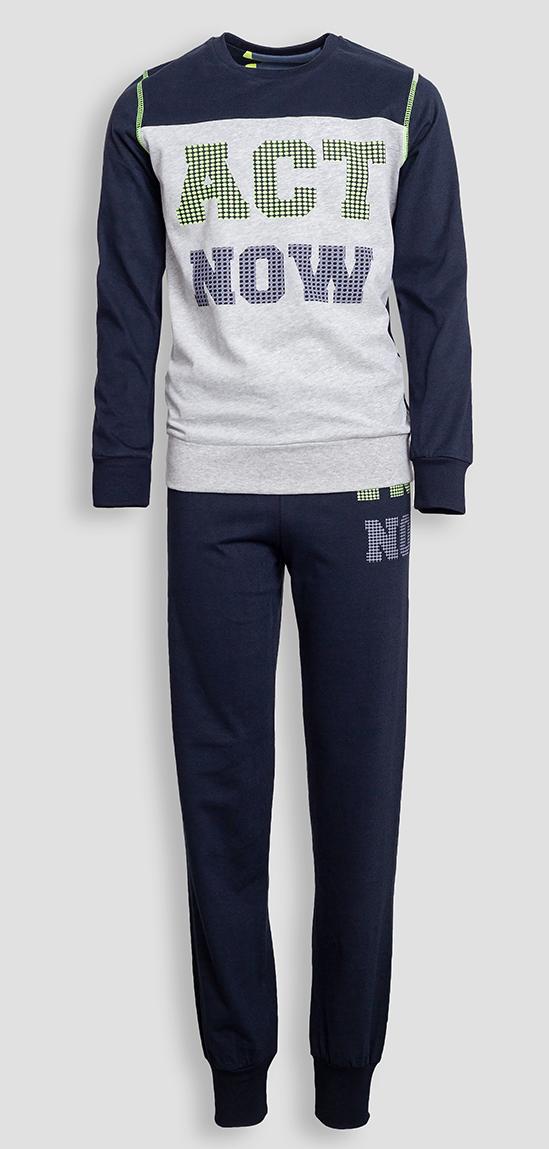 Детская мужская пижама E18K-63P101