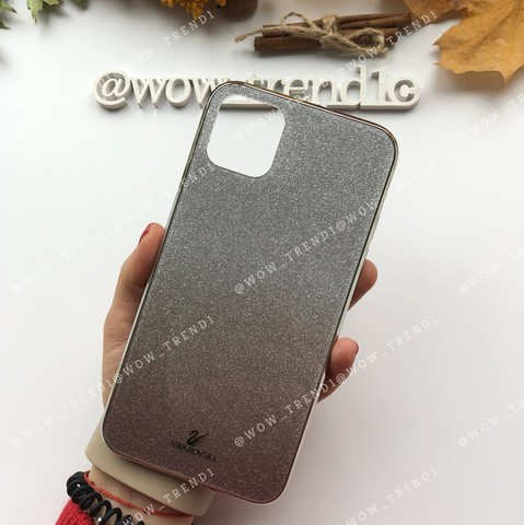 Чехол iPhone 11 Swarovski Case /black/