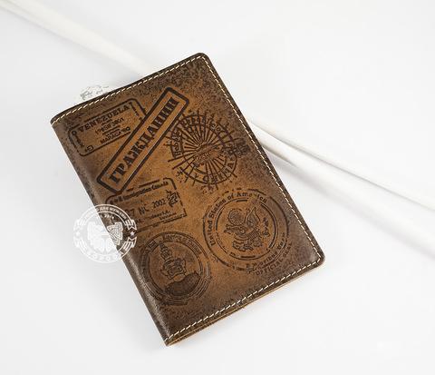 BY14-02-05 Обложка на паспорт с тиснением