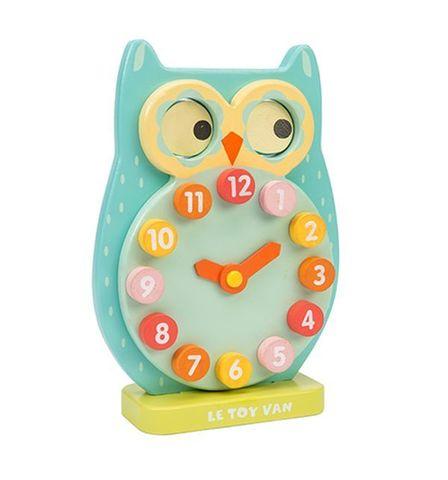 Le Toy Van. Деревянная игрушка Часы сова