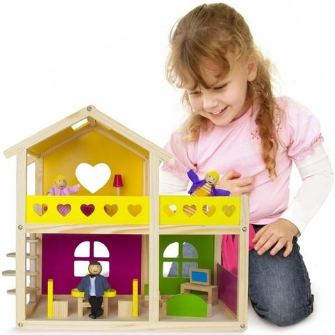 """Кукольный домик """"Уютный коттедж"""""""