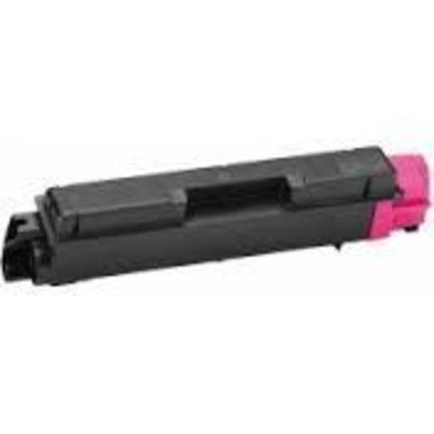 Совместимый картридж Kyocera TK-580M пурпурный для принтеров Kyocera FS-C5150DN. Ресурс 2800 стр.