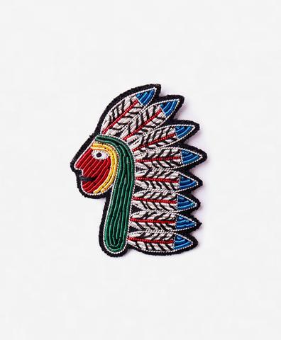 Брошь Native American