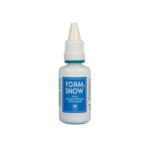 Вспомогальные жидкости 26231 Foan&Snow Эффекты Имитатор Пены и Снега, 32 мл Acrylicos Vallejo V26231.jpg
