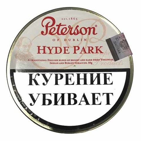 Табак Peterson Hyde Park (50 гр)