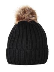 HT1806-3 шапка женская, черная