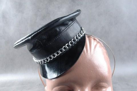 Обруч для волос с миниатюрной фуражкой «Строгая госпожа»