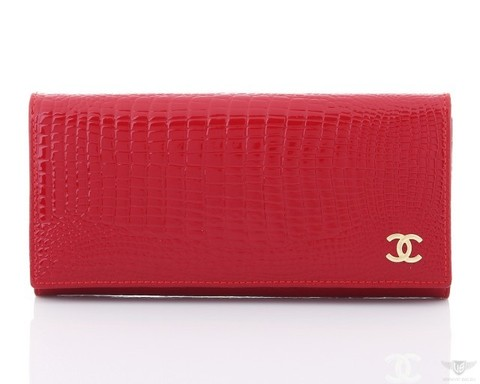 женский кошелек Chanel 9010 red в интернет магазине Stylishbag