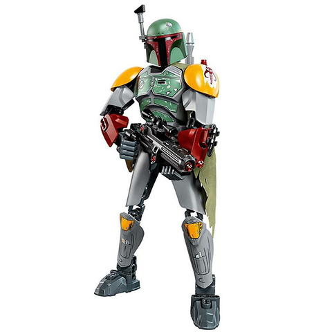 LEGO Star Wars: Боба Фетт 75533 — Boba Fett Buildable Figure — Лего Стар ворз Звёздные войны