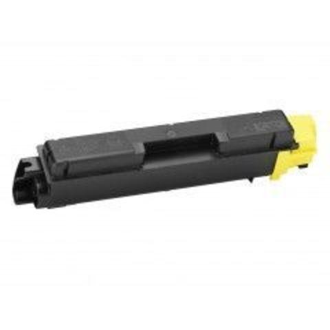 Совместимый картридж Kyocera TK-580Y желтый для принтеров Kyocera FS-C5150DN. Ресурс 2800 стр. Производитель Elfotec Ирландия