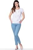 Брюки для беременных 02704 голубой