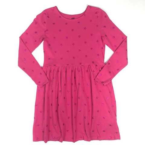 Платье H&M для маминой звездочки на 8-10 лет