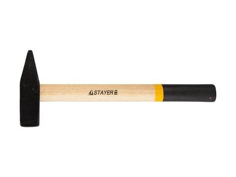 STAYER 800 г молоток слесарный с деревянной рукояткой
