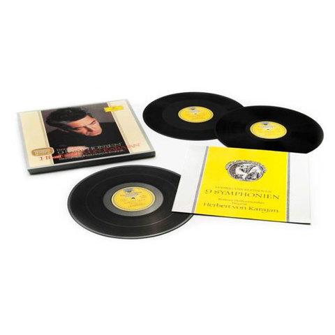 Herbert von Karajan / Beethoven 9 Symphonien (8LP)