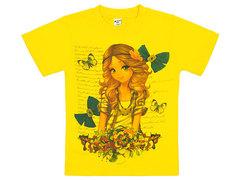 19065-33 футболка детская, желтая