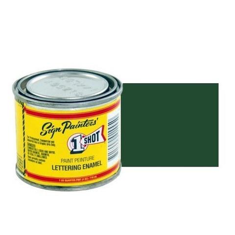 948-P Эмаль для пинстрайпинга 1 Shot Перламутровый Темно-зеленый (Dark Green), 236 мл