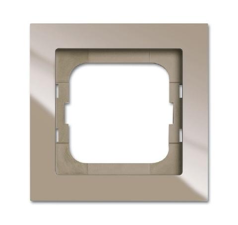 Рамка на 1 пост. Цвет Maison бежевый. ABB(АББ). Axcent(Акcент). 1754-0-4481