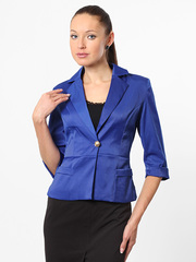 N503-1 пиджак женский синий